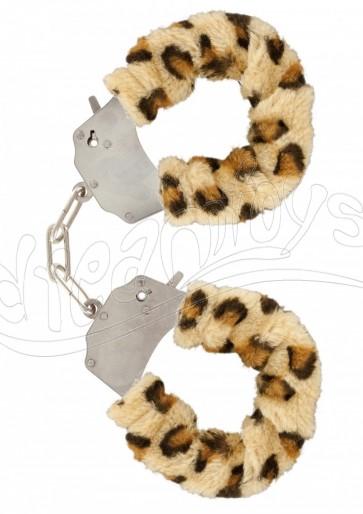 Furry Fun Cuffs Leopard