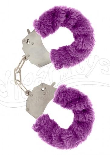 Furry Fun Cuffs Purple