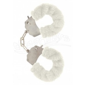 Furry Fun Cuffs White