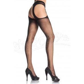 Sheer Suspender Pantyhose OS