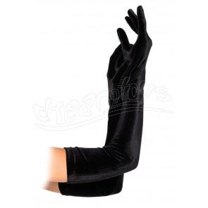 Opera Length Fingerless Gloves OS