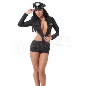 POLICE UNIFORM + HAT