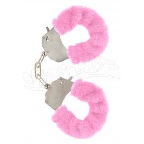 Furry Fun Cuffs Pink
