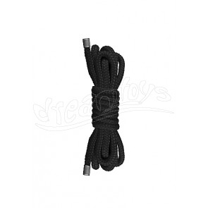 Japanese Mini Rope - 1,5m - Black