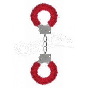 Beginner's Handcuffs Furry - Red