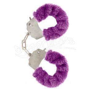 Furry Fun Cuffs Purple
